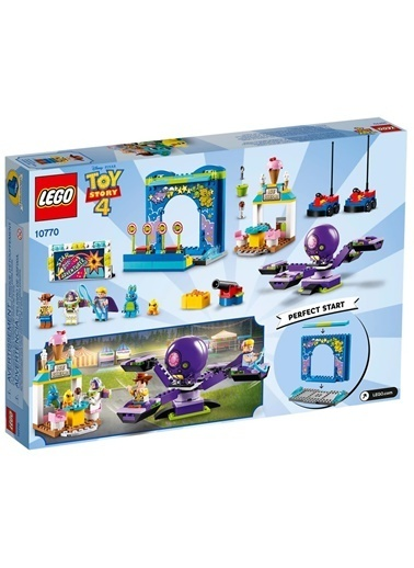 Lego Lego Juniors Toy Story 4 Buzz and Woodys 10770 Renkli